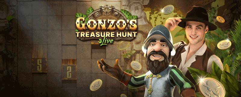 Evolution Gaming Gonzo's Treasure Hunt Live